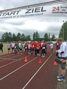 Start 24stundenlauf im Juni 2017