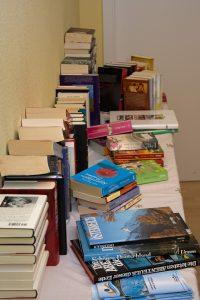Bücherbasar zum Weihnachtsmarkt - November 2016
